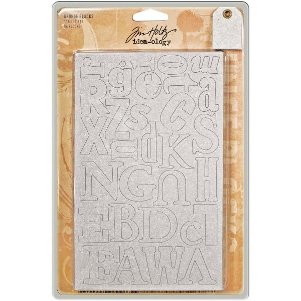 Tim Holtz Grunge Blocks